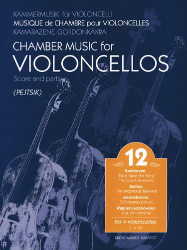 Chamber Music for Violoncellos, Vol. 12: Four Violoncellos