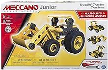 Comprar Meccano Junior Tractor - juegos de construcción (Vehicle, Negro, Amarillo, Caja)