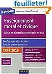Enseignement moral et civique. Profes...