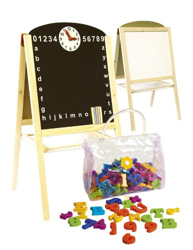 Table Easel with magnetic letters