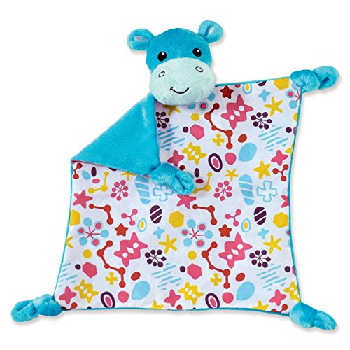 Manhattan Toy Savanna Hippo Soft Tactile Snuggly - 1