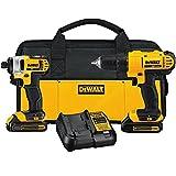 DEWALT-DCK240C2-20v-Lithium-Drill-DriverImpact-Combo-Kit-13Ah