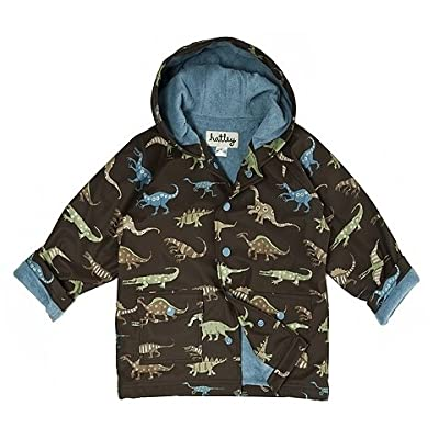 Hatley Boys Dinosaurs Cotton-Lined Raincoat