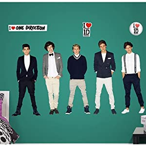 FH110300001 One Direction Collection Fathead Vinyl Wall Graphic Decal Sticker Poster from Fathead.com