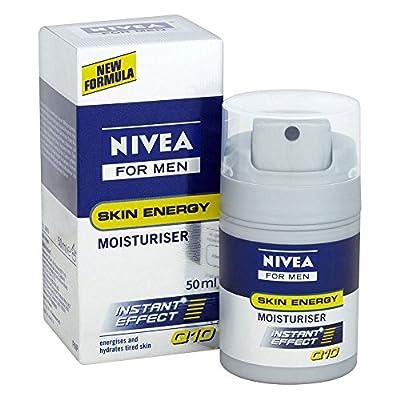 Nivea Men Skin Energy Moisturiser Instant Effect Q10 50ml from Grocery