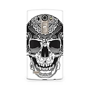 MOBICTURE Skull Abstract Premium Designer Mobile Back Case Cover For LG G4