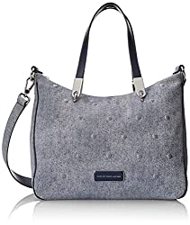 Marc by Marc Jacobs Ligero Denim Studs Ninja Top-Handle Bag