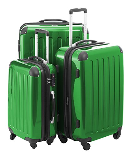 HAUPTSTADTKOFFER - Alex - Set of 3 Hard-side Luggages Glossy Suitcase Hardside Spinner Trolley Expandable (20