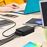 RAVPower-60W-12A-6-Port-USB-Charger-Desktop-Charging-Station-with-iSmart-Technology-Black
