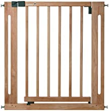 Safety 1st BARRIERE DE SECURITE U PRESSURE EASY CLOSE NATURAL WOOD