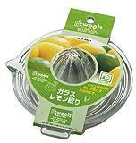 パール金属 EEスイーツ ガラス レモン絞り D-4801
