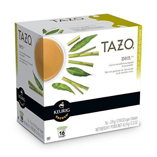 Tazo Zen Green Tea Keurig K-Cups, 16 Count (Keurig K Cup Teas White compare prices)