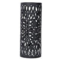 Songmics Black Metal Round Umbrella Stand Indoor Umbrella Holder Modern Home Décor ULUC20B