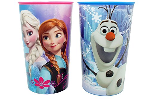 2pc Disney Frozen Plastic Cup Set - 1