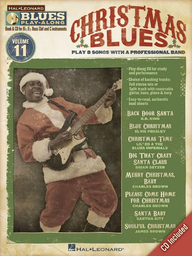 Christmas Blues - Blues Play-Along Volume 11 (Book/Cd) (Hal Leonard Blues Play-Along)