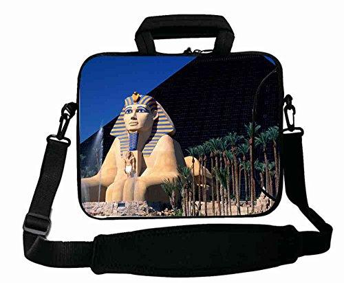 Fashionable Designed ( Travel Luxor Hotel Las Vegas ) Laptop Bag Suitalbe Men's (15
