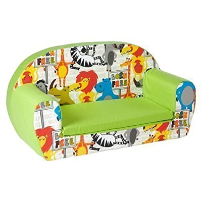 Ready Steady Bed Childrens Toddler Foam Sofa, Born Free