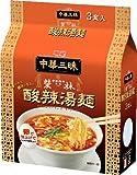 明星 中華三昧 赤坂榮林 酸辣湯麺 3P×2個 ランキングお取り寄せ