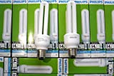 3 XGenuine Philips Essential Energy Saver Light Bulb 14W cool daylight White stick Light New E27 CAP,EXTRA BRIGHT, COOL DAYLIGHT 6500K SPECIAL OFFER
