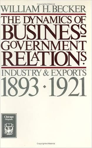 The Dynamics of Business-Government Relations: Industry and Exports, 1893-1921 (Chicago Originals)