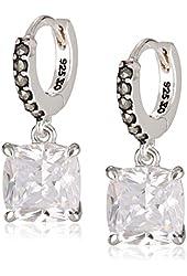 "Judith Jack ""Pearl Essence"" Sterling Silver Swarovski Marcasite Cubic-Zirconia Drop Earrings"