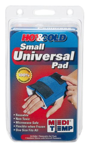 Medi Temp Hot And Cold Compress Small Universal Pad, Latex Free, 1 Ea