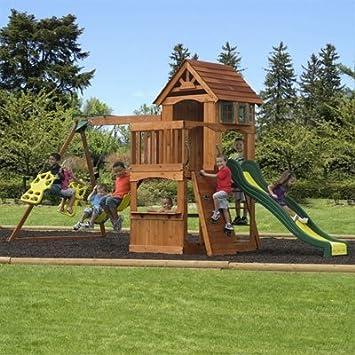 backyard discovery atlantis wooden swing set