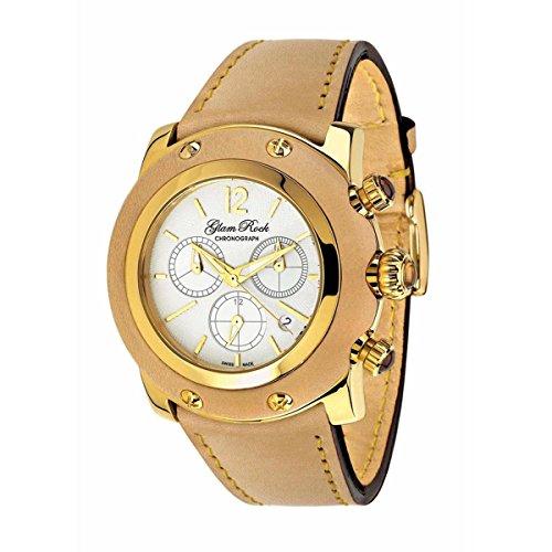 Glam Rock Damen Miami Analog Dress Quartz Reloj NWT GR10175