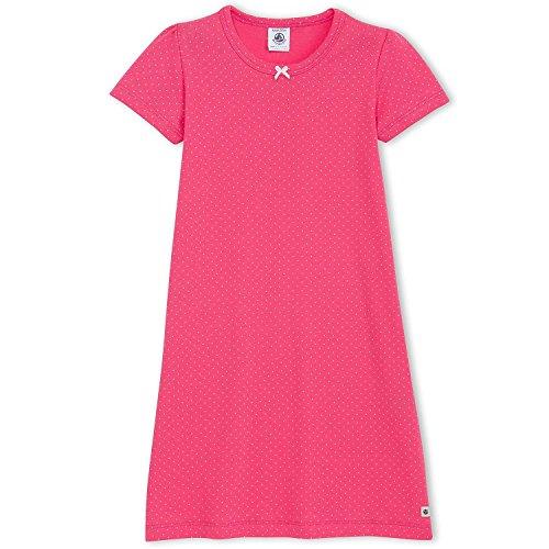 Petit Bateau camicia da notte manica corta rosa 110 cm