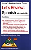 img - for Let's Review Spanish with Audio CD (Barron's Review Course) book / textbook / text book