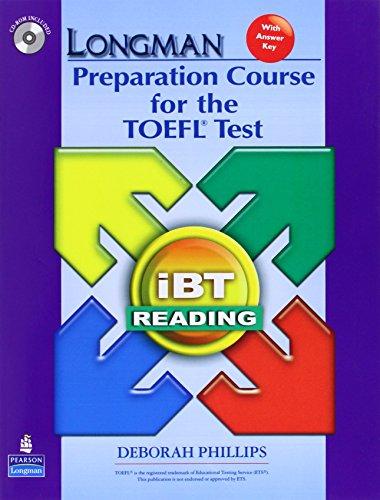 Longman Preparation Course for the TOEFL Test: IBT Reading (Longman Preparation Course for the TEOFL Test)