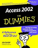 Access 2002 For Dummies (0764508180) by Kaufeld, John