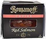 Romanoff Caviar Red Salmon, 2-Ounce Jars (Pack of 2)