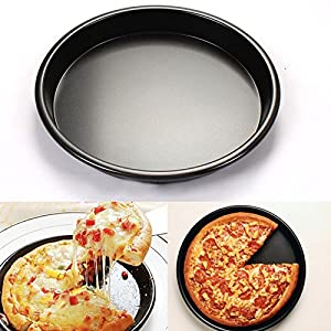 Pizza Pan - Makes Amazing Golden Crust Pizza - Better than Ceramic or Stone Baking