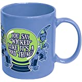ICUP Wizard of Ounce You Say Wicked Like it's a Bad Thing Flying Monkeys Ceramic Coffee Mug, Ocean Blue