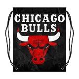 Custom Hot Chicago Bulls Basketball Twin Sides Drawstring Bags You-BB09