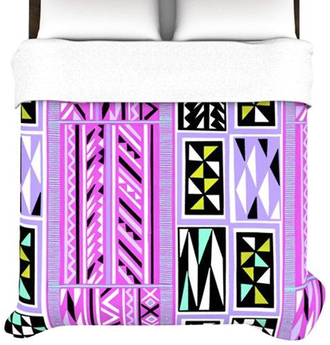 Kess Inhouse Vikki Salmela American Blanket Pattern Ii 68 By 88-Inch Duvet, Twin