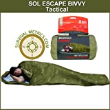 SOL Escape Bivvy TACTICAL Breathable Survival Sleeping Bag - Olive Drab
