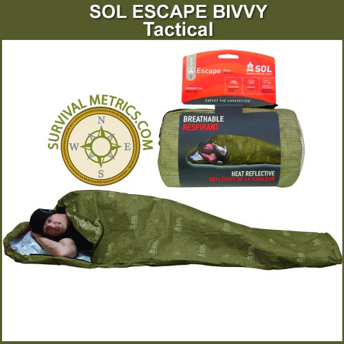 SOL Escape Bivvy TACTICAL Breathable Survival
