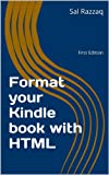 Format your Kindle book with HTML