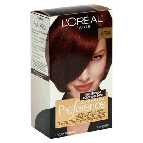 Loreal Preference Hair Color Rr04 Intense Dark  Dark Brown Hairs