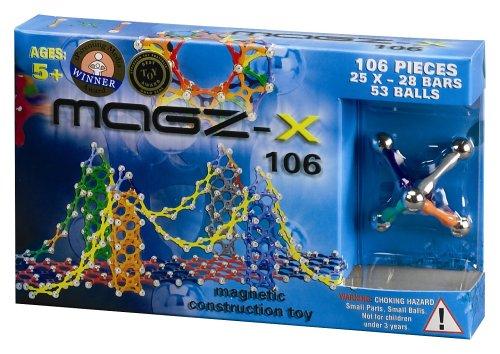 Magz-X 106 Magnetic Construction Kit MX106 (Age 5+)