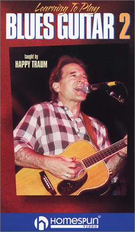 Learning to Play Blues Guitar Two Happy [VHS] [Import]