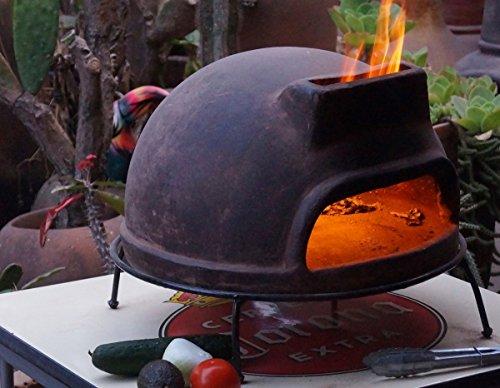 pizzaofen toskana von sol y yo steinbackofen aus terrakotta 52 cm unvergesslicher pizza. Black Bedroom Furniture Sets. Home Design Ideas