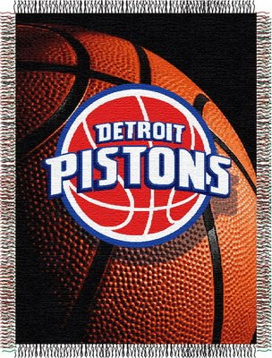 Nba Detroit Pistons 48-Inch-By-60-Inch Acrylic Tapestry front-865326