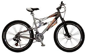 Mongoose Men's XR250 Bicycle (Grey) 26-Inch