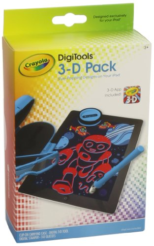 Griffin Crayola DigiTools 3-D Pack - Accessory kit - blue - for Apple iPad
