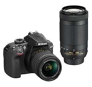 Nikon D3400 w/ AF-P DX NIKKOR 18-55mm f/3.5-5.6G VR & AF-P DX NIKKOR 70-300mm f/4.5-6.3G ED