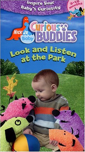 Nick Jr. Baby Curious Buddies - Look and Listen at the Park [VHS]