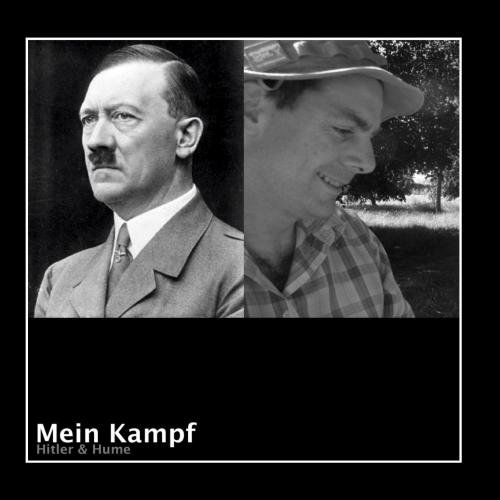 Original album cover of Mein Kampf by Hitler & Hume